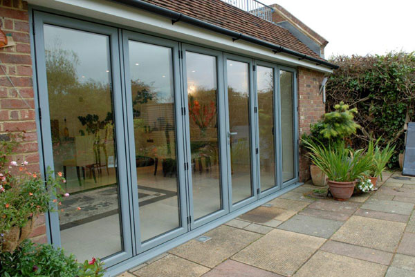 Bi Folding Aluminium Doors In Nottingham